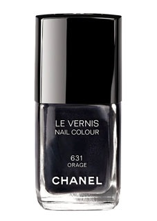 vernis chanel un gris anthracite la mode. Black Bedroom Furniture Sets. Home Design Ideas