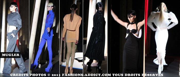 Défilé Mugler pendant la Fashion Week à Paris