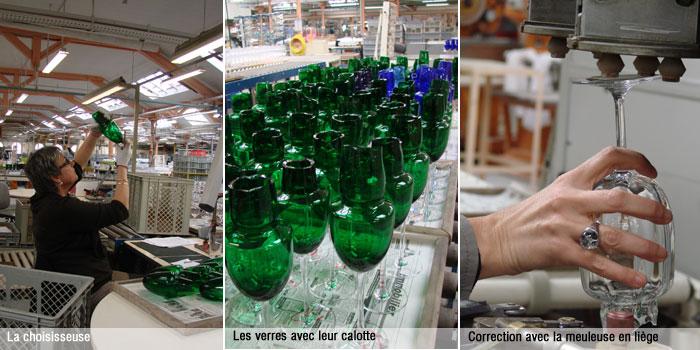 Les verres Baccarat