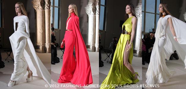 Défilé Haute Couture Stéphane Rolland