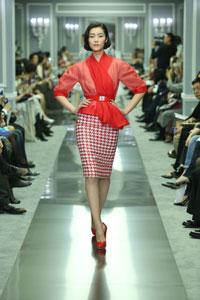 Défilé Dior Haute Couture à Shanghai