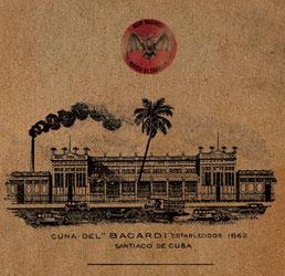 Etablissement BACARDI en 1862